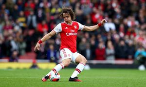 David Luiz (pictured) and Arsenal team-mates Alexandre Lacazette, Nicolas Pepe and Granit Xhaka have been reminded about social distancing by the Premier League club.