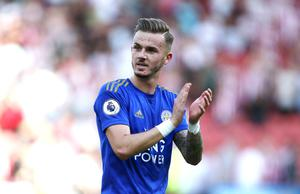 James Maddison has impressed at Leicester following his move from Championship club Norwich (Richard Sellers/PA)