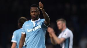 Saido Berahino is at the centre of a row between Stoke and West Brom