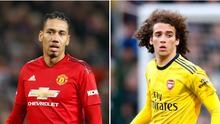 The futures of Chris Smalling and Matteo Guendouzi are in the spotlight (Martin Rickett/PA)