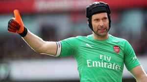 Arsenal goalkeeper Petr Cech will retire at the end of the season (Nick Potts/PA)