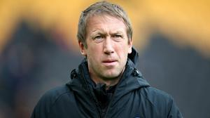 Graham Potter's Brighton are fighting for Premier League survival (Nick Potts/PA)