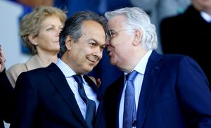 Farhad Moshiri (left) and Bill Kenwright will match donations from fans who have given up refunds on their season tickets (Richard Sellers/PA)