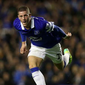 Ross Barkley has been ever-present for Everton this season