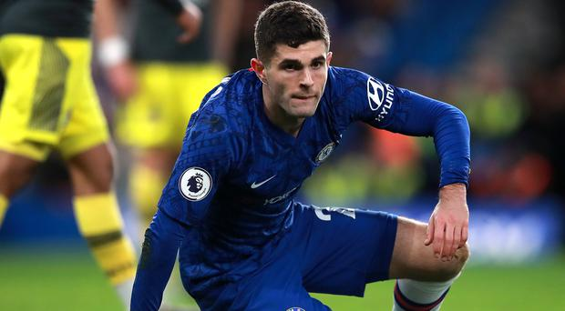 Christian Pulisic, pictured, admits he must sharpen up his finishing for Chelsea (Adam Davy/PA)