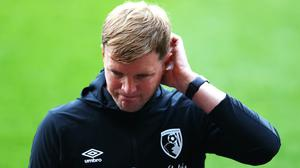 Bournemouth boss Eddie Howe must come to terms with Premier League relegation (Michael Steele/PA)