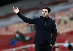 Arsenal manager Mikel Arteta knows their Premier League form this season has been way short of expectations (Peter Cziborra/PA)