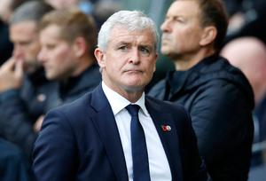 Under pressure: Mark Hughes