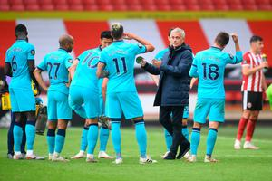 Hitting back: Jose Mourinho took umbrage at Arsenal taunting his side's loss at Sheffield United