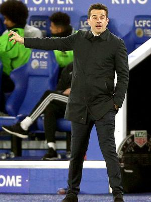 Marco Silva's Everton lost to Leicester (Nigel French/PA)
