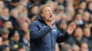 Neil Warnock, pictured, insists Crystal Palace players were not involved in the incident that saw QPR defender Steven Caulker sustain a head injury