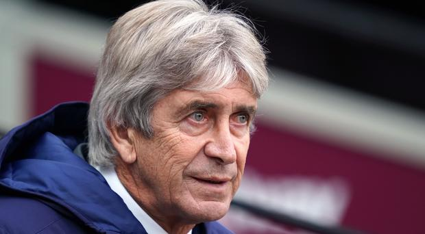 Manuel Pellegrini remains one of the favourites to be the next Premier League boss to get the sack (John Walton/PA)