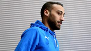 Cenk Tosun now faces a lengthy absence after surgery (Nigel French/PA)