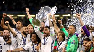 Real Madrid are the holders of the Champions League.