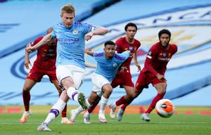 Kevin De Bruyne was also on top form (Dave Thompson/NMC Pool)
