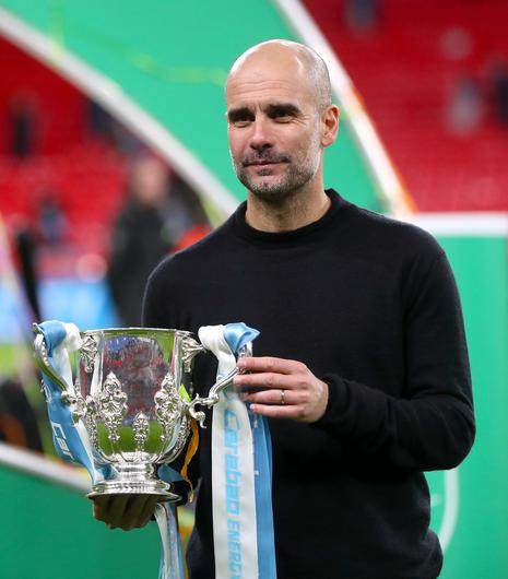 City are bidding to win the Carabao Cup for a fourth year in succession (Mike Egerton/PA)