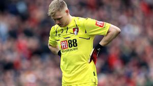 Bournemouth goalkeeper Aaron Ramsdale was deflated by Sunday's loss to Southampton (Mike Egerton/PA)