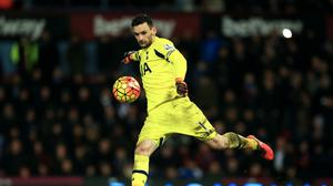 Tottenham goalkeeper Hugo Lloris is expected to be out for a month through injury.