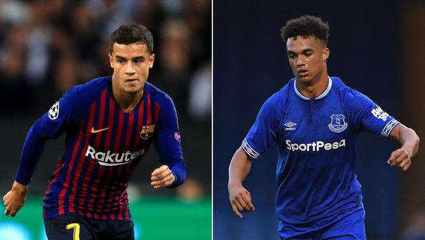 Philippe Coutinho and Antonee Robinson are making transfer news (Mike Egerton/Dave Howarth/PA)