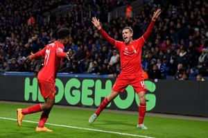 Class act: Jordan Henderson has found a new lease of life at Liverpool