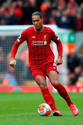 Full focus: Virgil Van Dijk insists he and his defensive team-mates must stay wise to opposition tactics