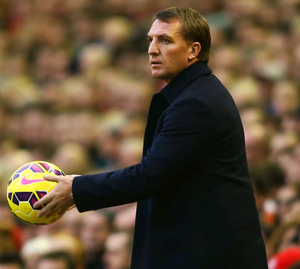 Back off: Brendan Rodgers is upset at some of the criticism Liverpool have received