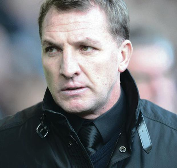 Brendan Rodgers isn't looking at the summit