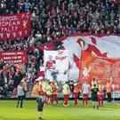 The Anfield faithful honours memory of Hillsborough disaster