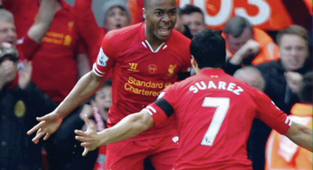 Raheem Sterling and Luis Suarez have been instrumental to Liverpool's rise in the Premier League this season