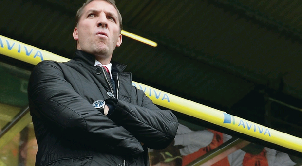 Brendan Rodgers has lead Liverpool to the brink of winning this season's Premier League title