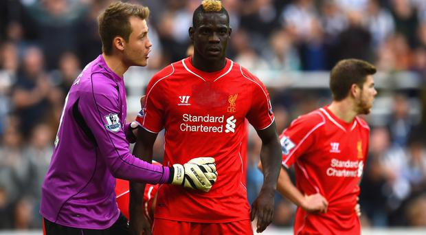 Sorry: Mario Balotelli has been fined and banned by FA