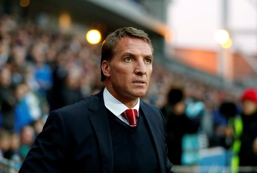 Confident: Brendan Rodgers is sure of success with Liverpool