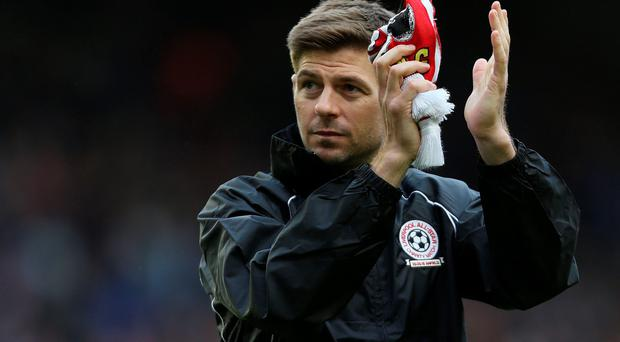 New chapter: Steven Gerrard will soon leave the Reds
