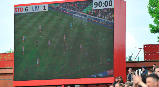 Six of the worst: The scoreboard says it all with Liverpool humiliated by Stoke on Sunday