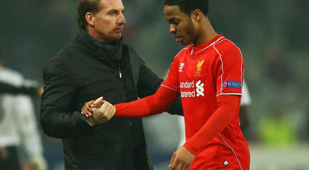 Deteriorating relationship: There is reportedly a strained understanding between Raheem Sterling and Brendan Rodgers