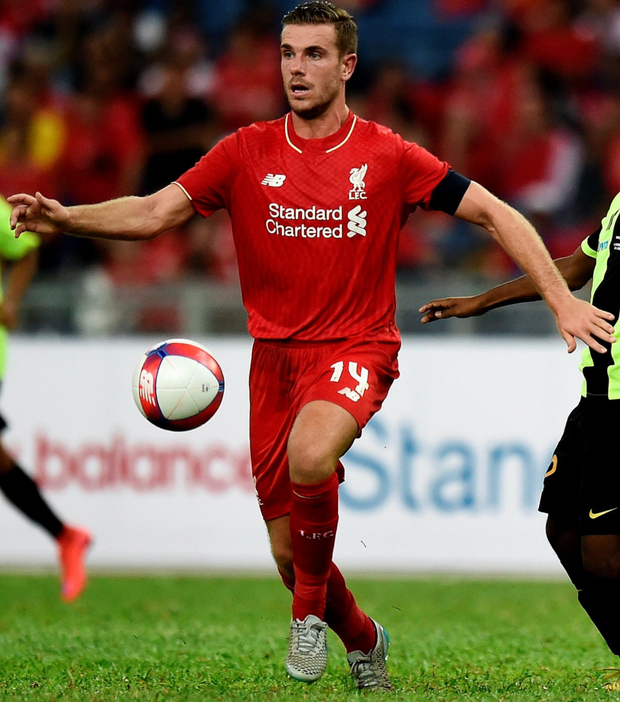 Sickening: Jordan Henderson was embarrassed by the loss