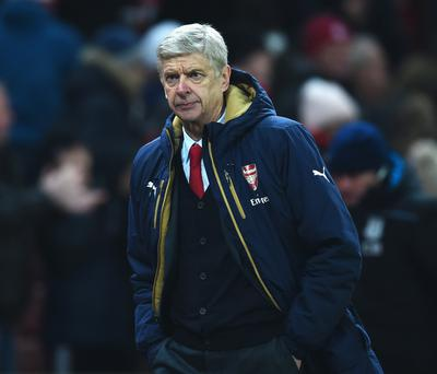 Wembley way: Arsene Wenger didn't enjoy Wembley switch