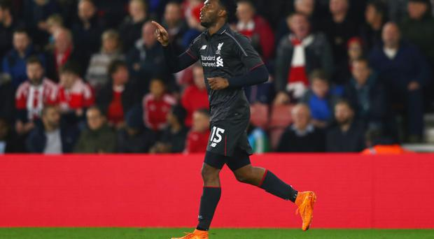 Ace in pack: Daniel Sturridge has been hailed as world class by Brendan Rodgers