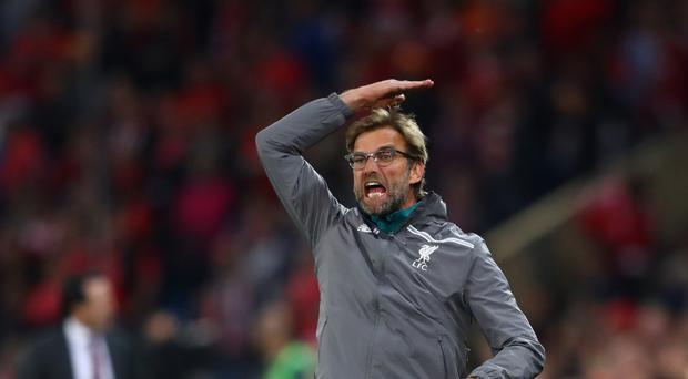 Uphill battle: Jurgen Klopp faces a struggle to get Liverpool back on track for top four finish