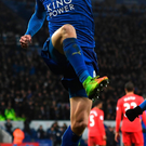 Emotional night: Jamie Vardy hails his double