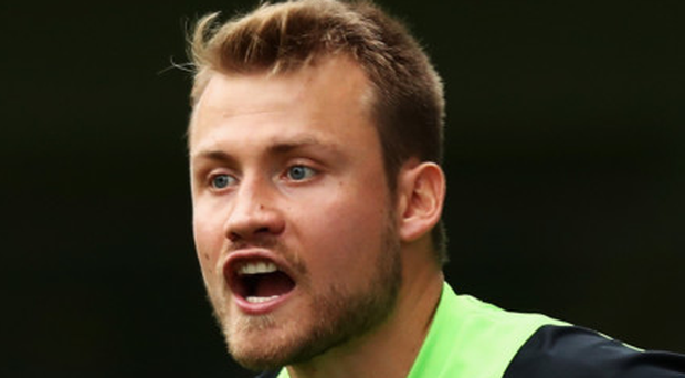Positive: Simon Mignolet is targeting victory over Arsenal