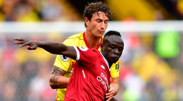 Frustrating day: Sadio Mane admits Liverpool should not have dropped points at Watford