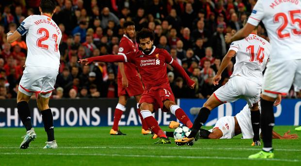 Challenge: Mohamed Salah says Liverpool must prove they can cope with the loss of Sadio Mane