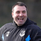 Still in charge: David Unsworth