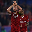 Thrown it away: Jordan Henderson applauds fans