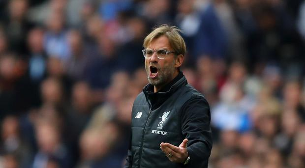 Great run: Jurgen Klopp is looking for a sixth win on the trot