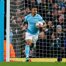 Early hope: Gabriel Jesus put City ahead on Tuesday night