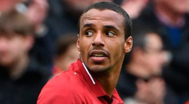 Back in goals: Joel Matip found net on his return from injury