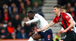 Major impact: Naby Keita scores Liverpool's second amid a dazzling performance in their win over Bournemouth at the Vitality Stadium