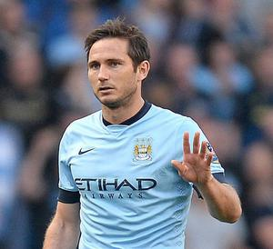 Frank Lampard could be poised to stay with Manchester City for a while longer than planned
